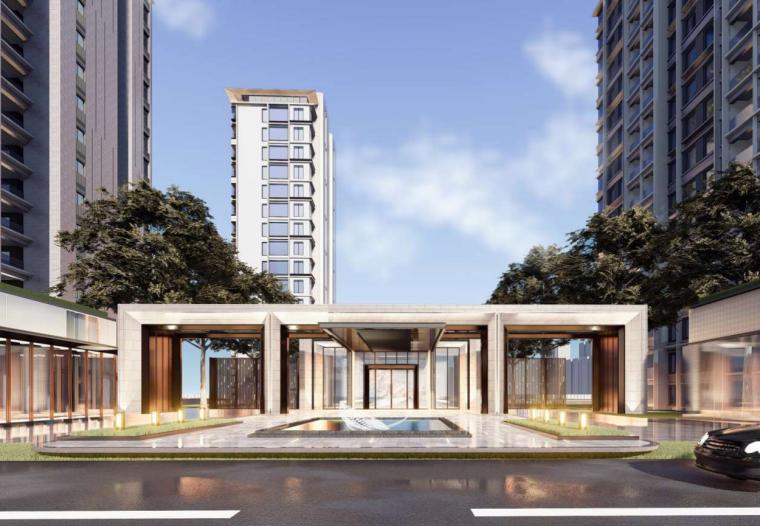 [浙江]现代风低密宜居社区住宅建筑方案设计-image.png