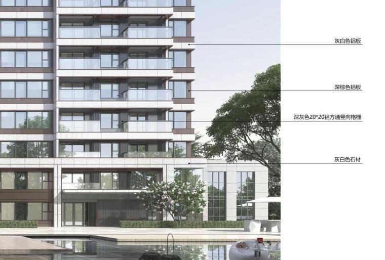 [上海]常规住宅类-售楼处项目立面造型方案_10