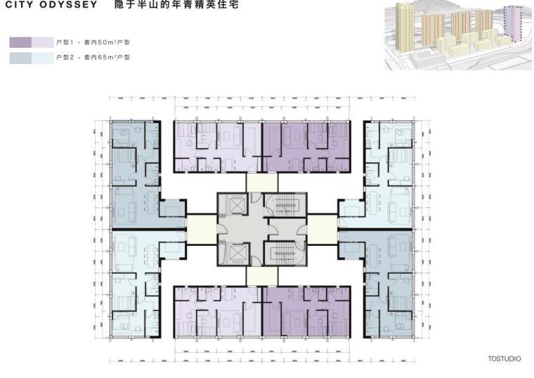 [广东]国际优雅-轻奢隐貴住宅建筑方案设计_7