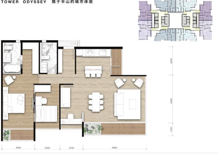 [广东]国际优雅-轻奢隐貴住宅建筑方案设计_6