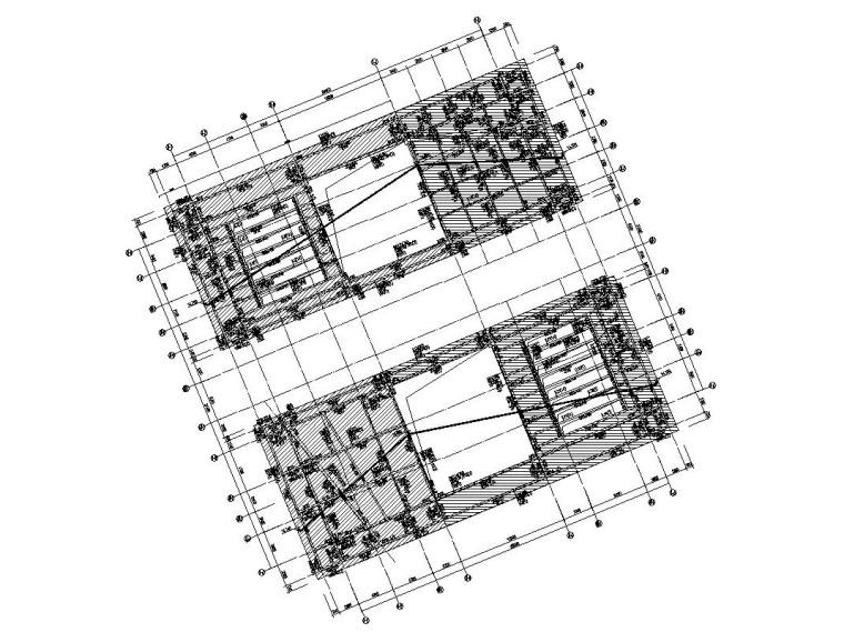 3层框架结构旅游中心结构施工图CAD2019_5