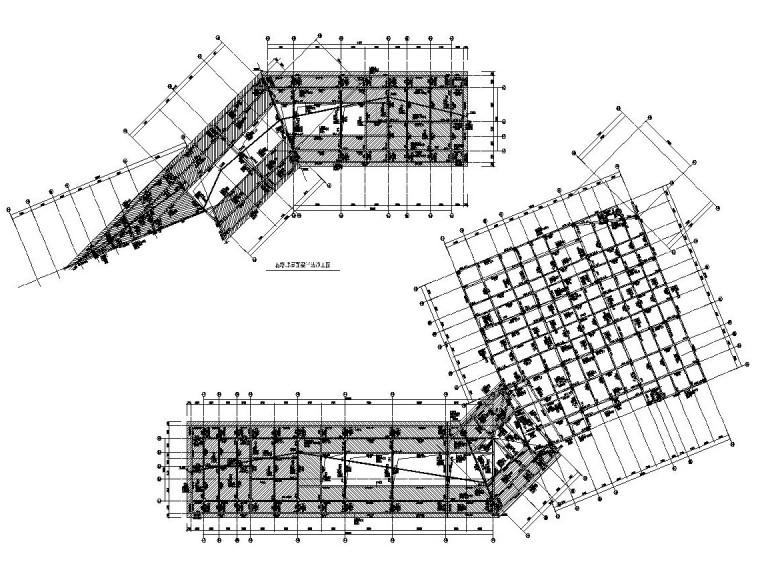 3层框架结构旅游中心结构施工图CAD2019_4