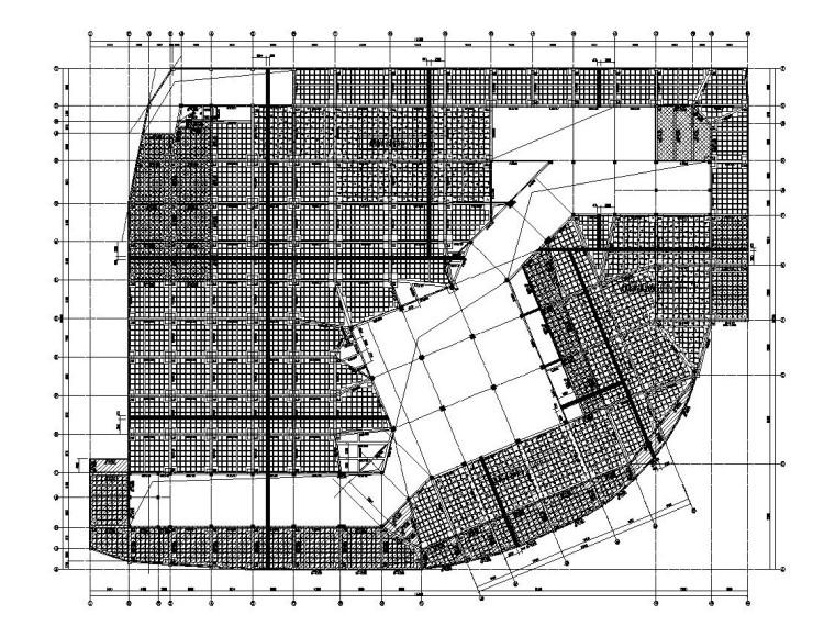 3层框架结构旅游中心结构施工图CAD2019_8