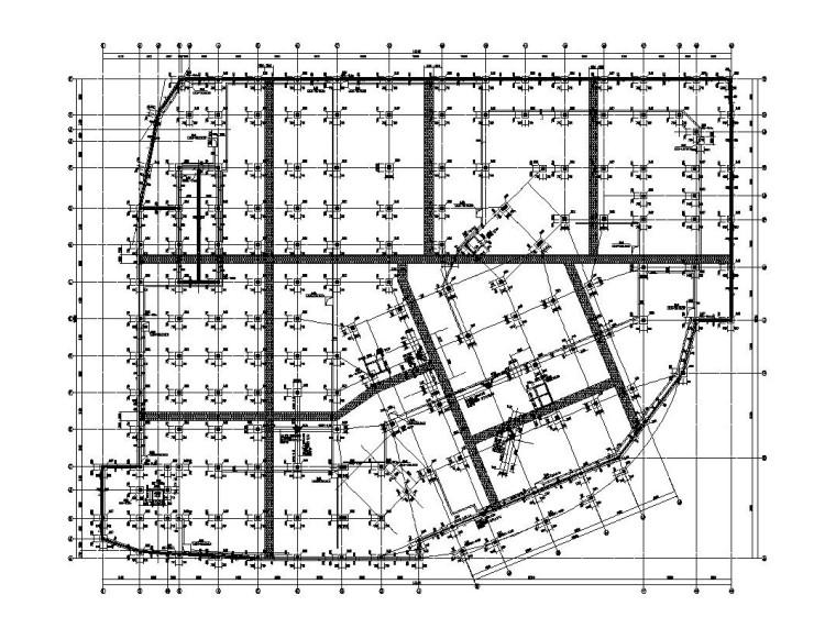 3层框架结构旅游中心结构施工图CAD2019_6