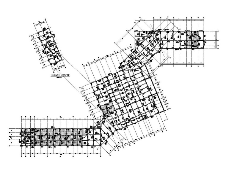 3层框架结构旅游中心结构施工图CAD2019_3