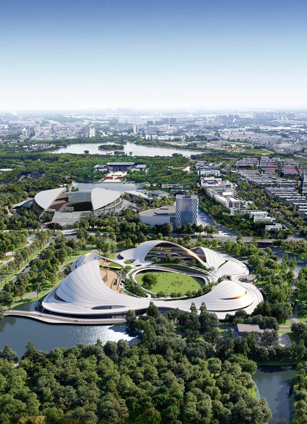 MAD最新方案:嘉兴市民中心,城市的怀抱_3