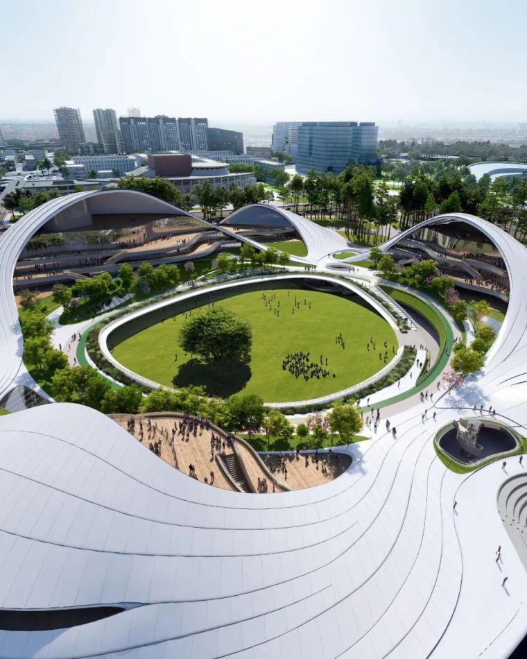 MAD最新方案:嘉兴市民中心,城市的怀抱_5