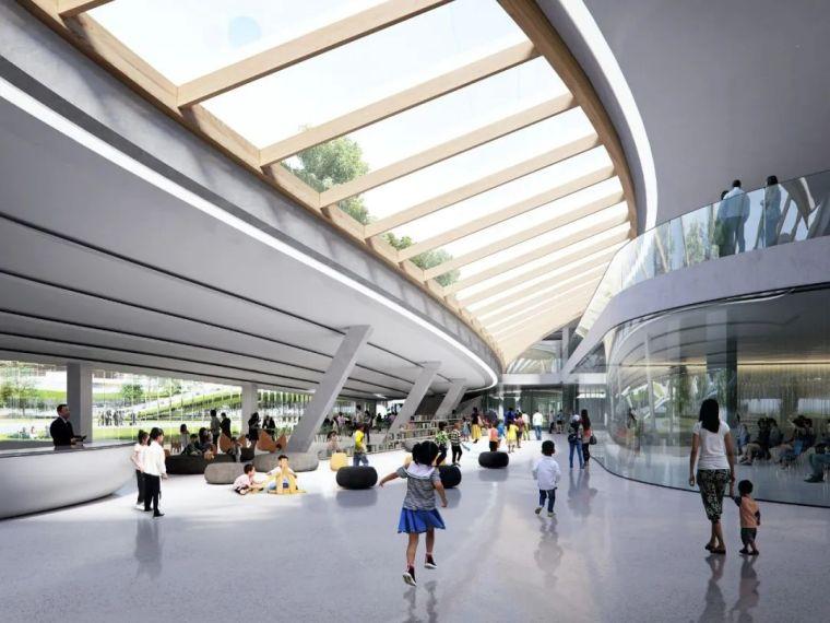 MAD最新方案:嘉兴市民中心,城市的怀抱_15