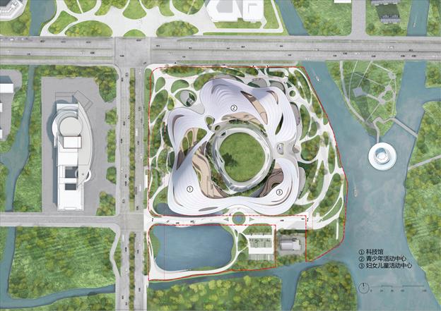 MAD最新方案:嘉兴市民中心,城市的怀抱_19