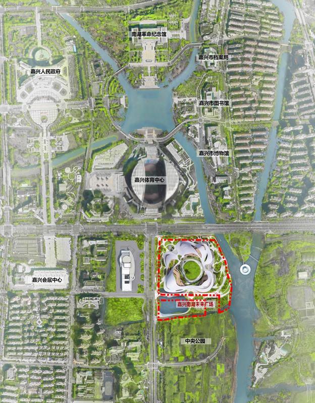 MAD最新方案:嘉兴市民中心,城市的怀抱_18