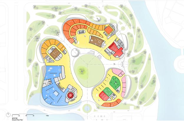 MAD最新方案:嘉兴市民中心,城市的怀抱_20