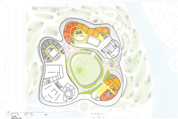 MAD最新方案:嘉兴市民中心,城市的怀抱_21