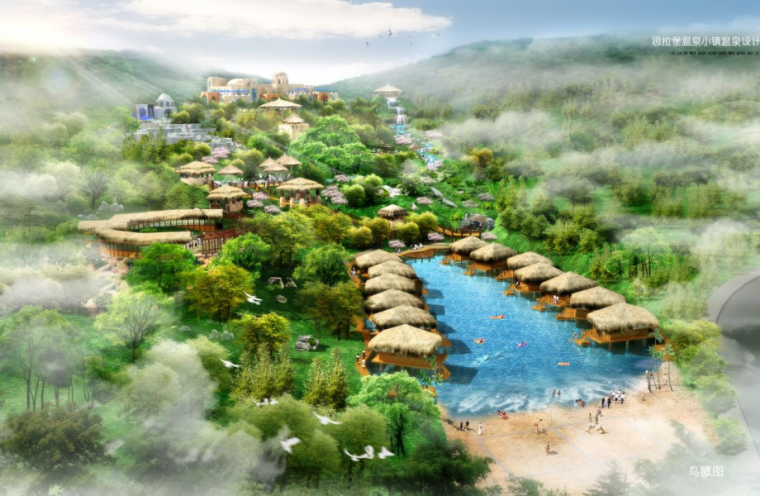 [辽宁]现代滨海特色温泉度假区方案设计_1