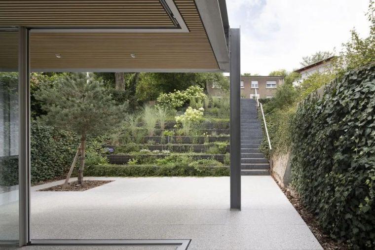 斜坡花园下的透明厨房-GALGEN住宅加建_16