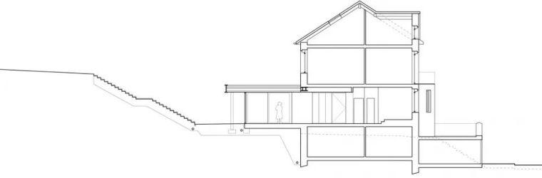 斜坡花园下的透明厨房-GALGEN住宅加建_21