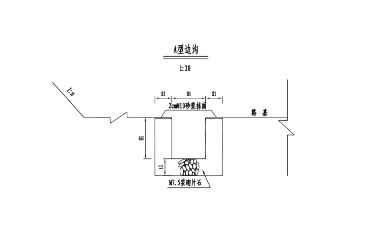 机场改扩建路网迁改工程清单图纸_4