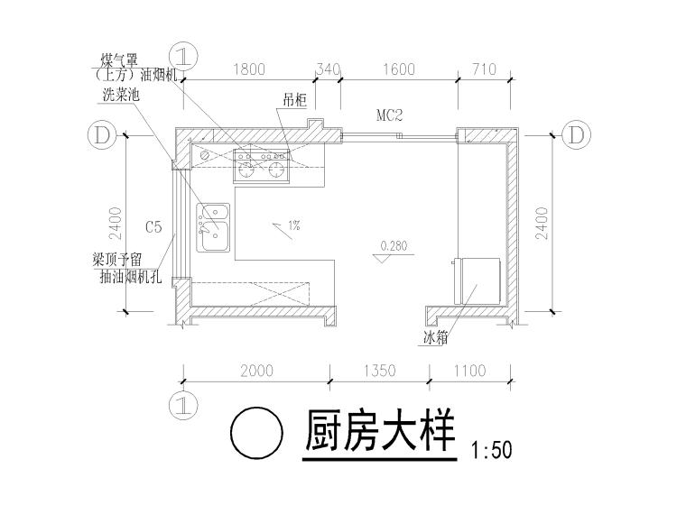 独栋别墅建筑工程量计算实例(含图纸)_2