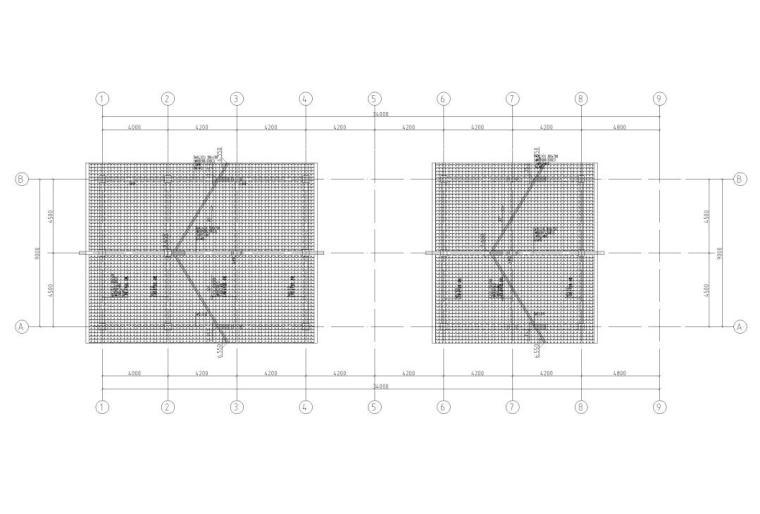 30层框架结构商业中心结构施工图CAD2019_2