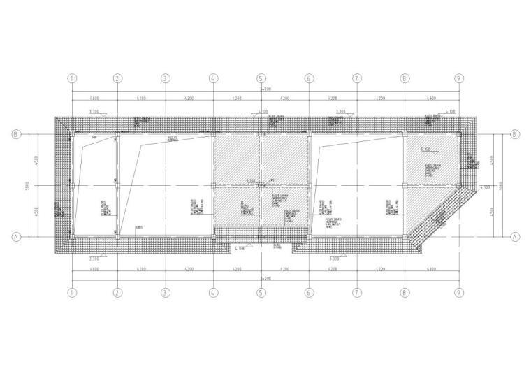 30层框架结构商业中心结构施工图CAD2019_1