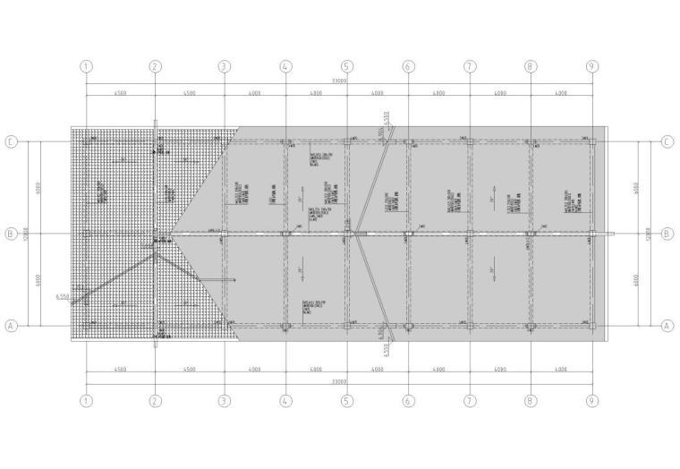 30层框架结构商业中心结构施工图CAD2019_3