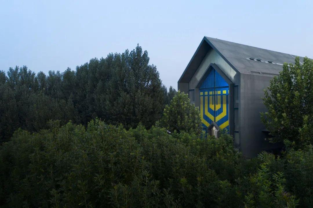 从柱到梁,苌庄教堂