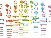 22套分析图图标素材合集PSD