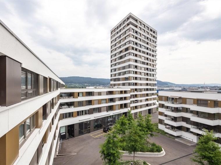 瑞士LimmatSpot商业混合建筑_1