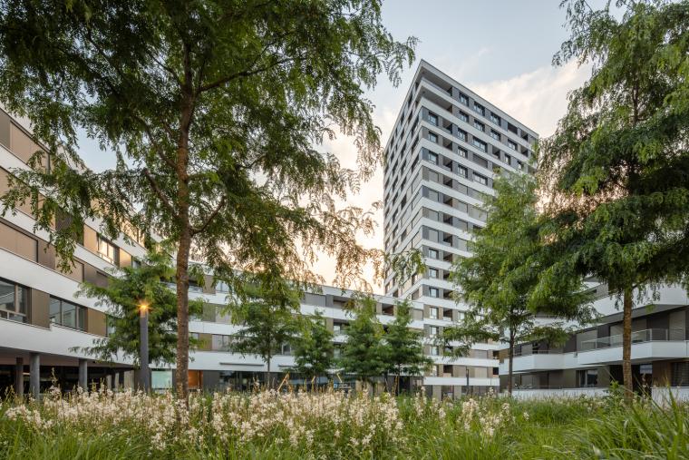 瑞士LimmatSpot商业混合建筑_3