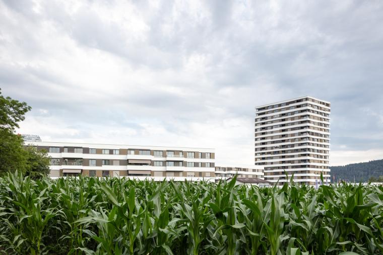 瑞士LimmatSpot商业混合建筑_4