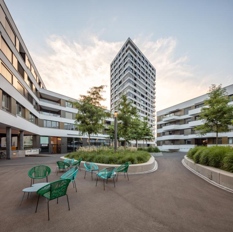 瑞士LimmatSpot商业混合建筑_2