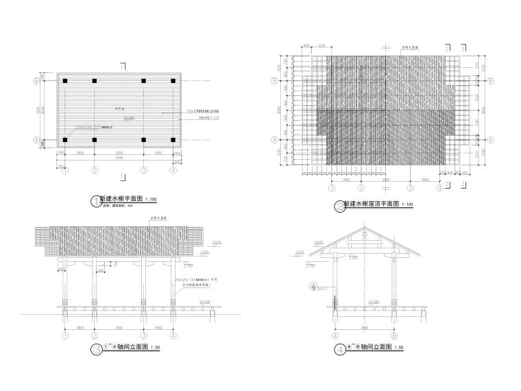 著名湿地公园景观提升工程施工图纸_17