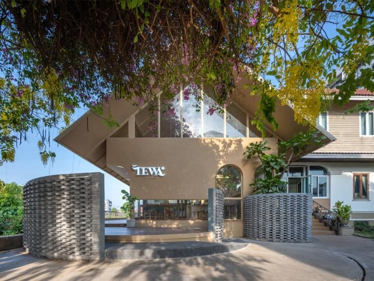 泰国大城府Tewa咖啡店_1