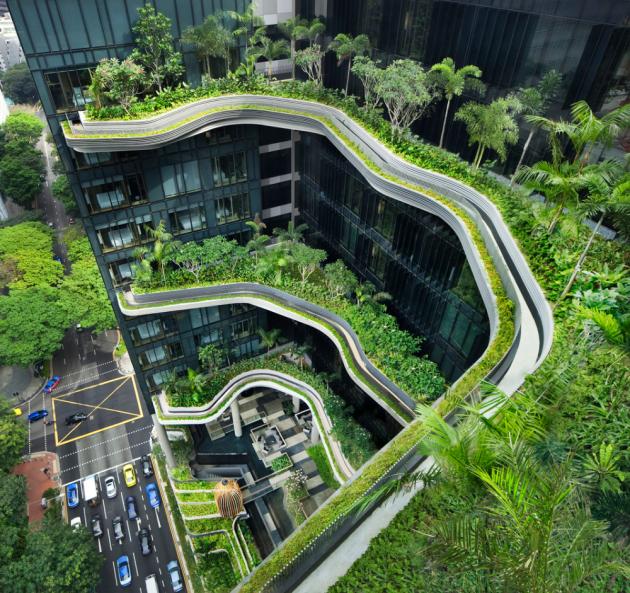 屋顶花园,该如何设计?_1