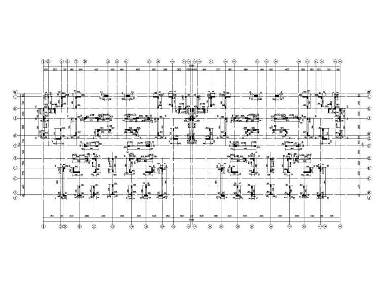 30层部分框支抗震墙结构住宅结构施工图2020_7