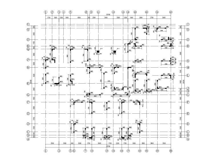 30层部分框支抗震墙结构住宅结构施工图2020_9