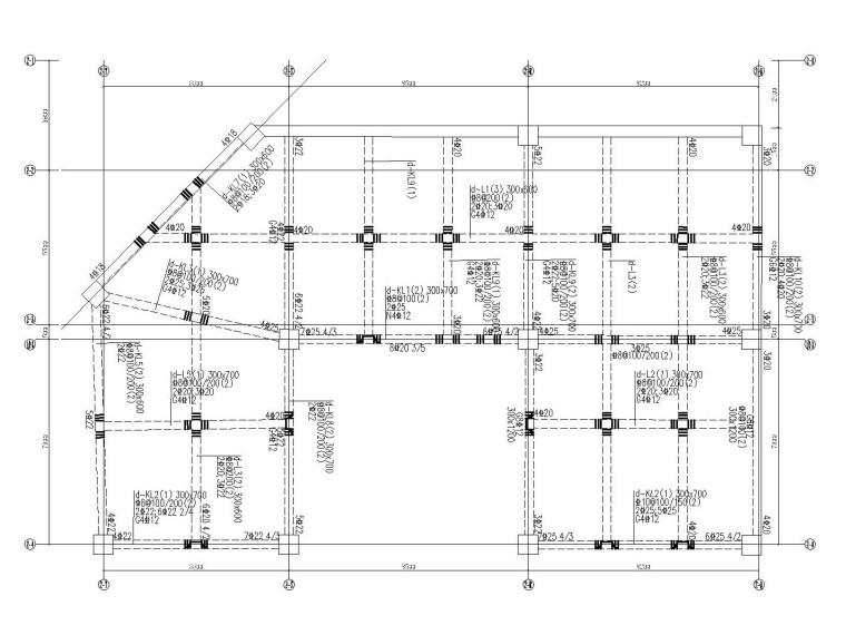 30层部分框支抗震墙结构住宅结构施工图2020_10