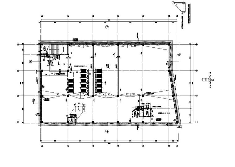 [江苏]三层食堂建筑施工图纸设计CAD2019_6