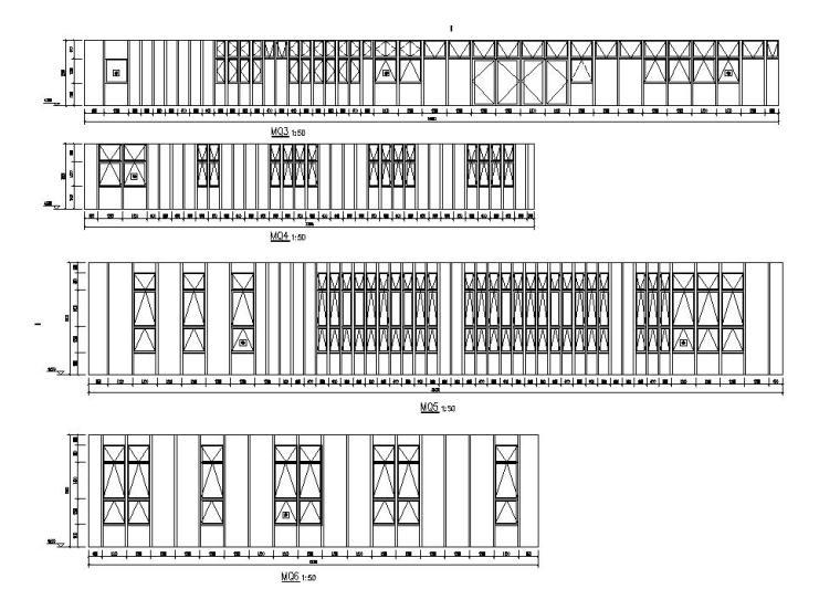 [江苏]三层食堂建筑施工图纸设计CAD2019_8