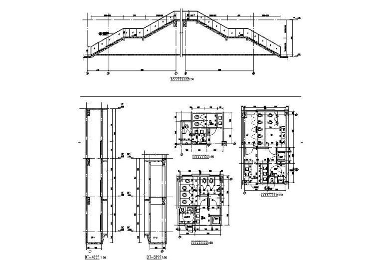 [江苏]三层食堂建筑施工图纸设计CAD2019_10