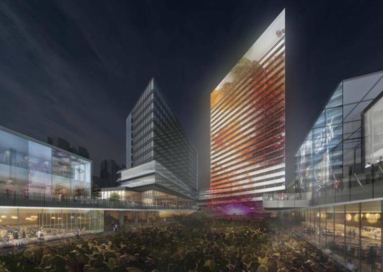 [上海]商业+办公综合体设计改造方案PDF2020_10