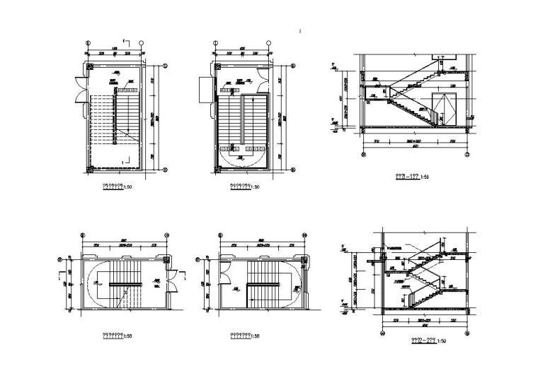 [江苏]欧式配套商业施工图纸CAD2019_6