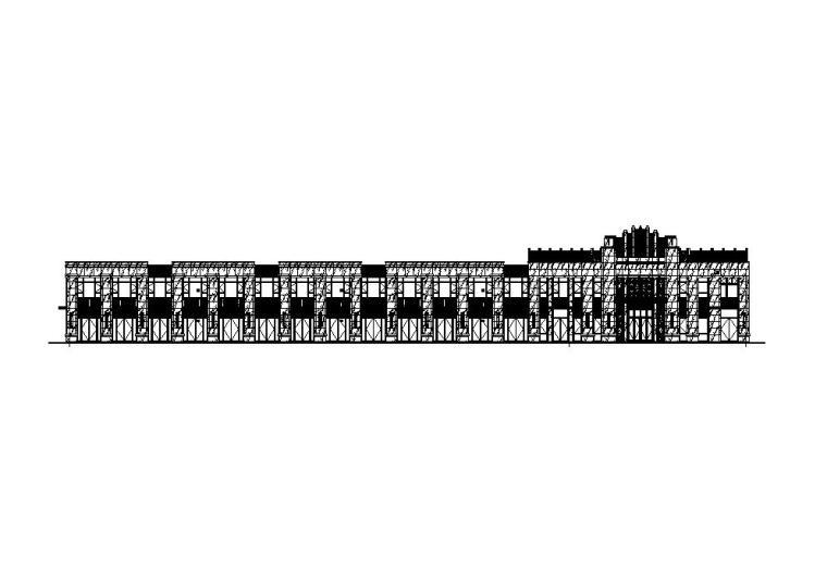 [江苏]欧式配套商业施工图纸CAD2019_1