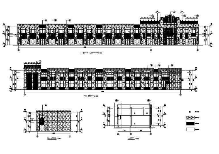 [江苏]欧式配套商业施工图纸CAD2019_5