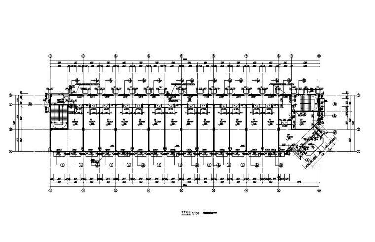 [江苏]欧式配套商业施工图纸CAD2019_3