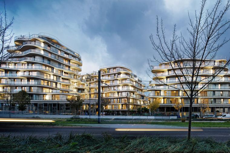 法国Courbes公寓楼_23