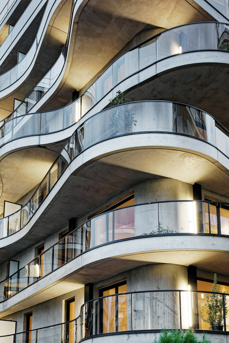 法国Courbes公寓楼_13