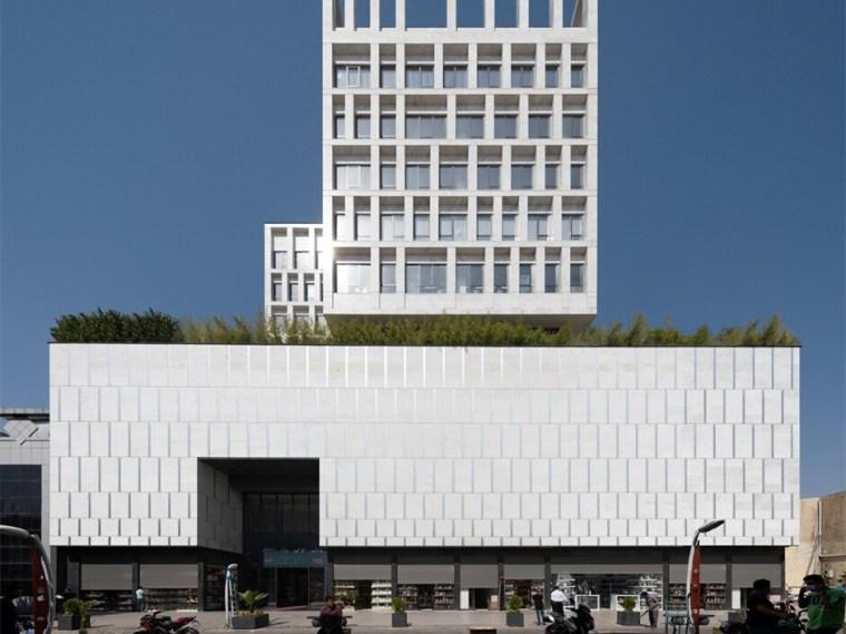 伊朗普兰萨商业和办公综合楼_1