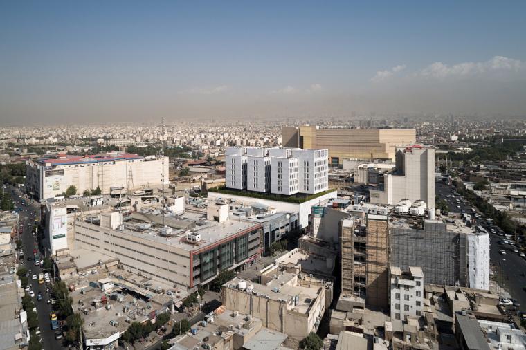 伊朗普兰萨商业和办公综合楼_2
