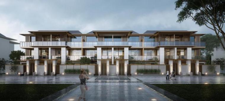[西宁]低密居住区洋房+别墅规划设计文本PDF_4