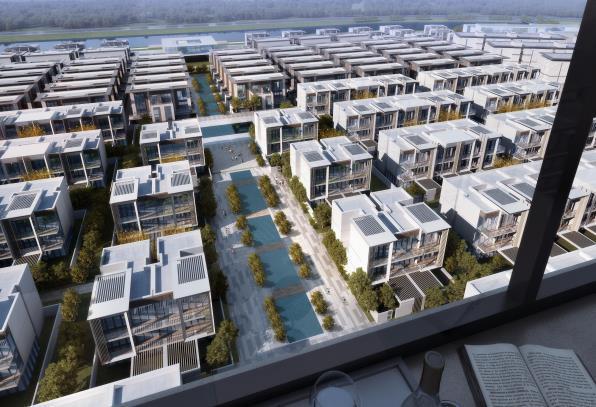 [西宁]低密居住区洋房+别墅规划设计文本PDF_15